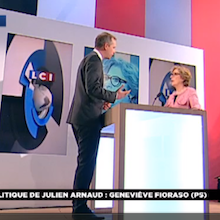 Invite du Grand journal de LCI