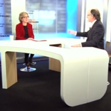 Invitée du Talk Orange le Figaro